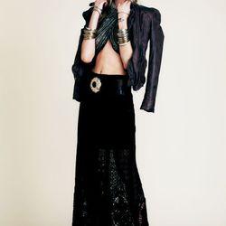 Mi Amore maxi skirt, $168