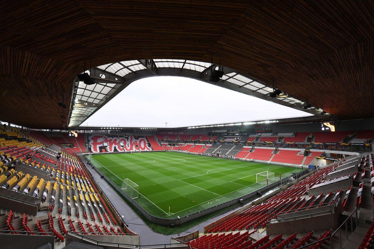 Slavia Praha v Arsenal FC - UEFA Europa League Quarter Final: Leg Two
