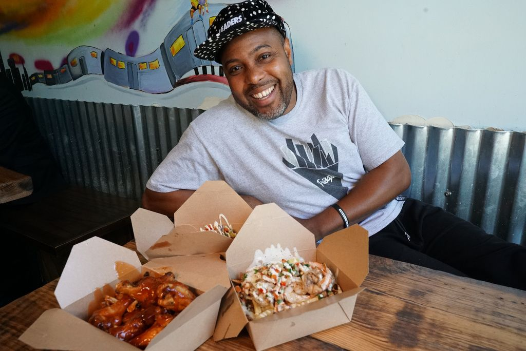 Corey Gilkey is the owner of Friistyle in Bronzeville.