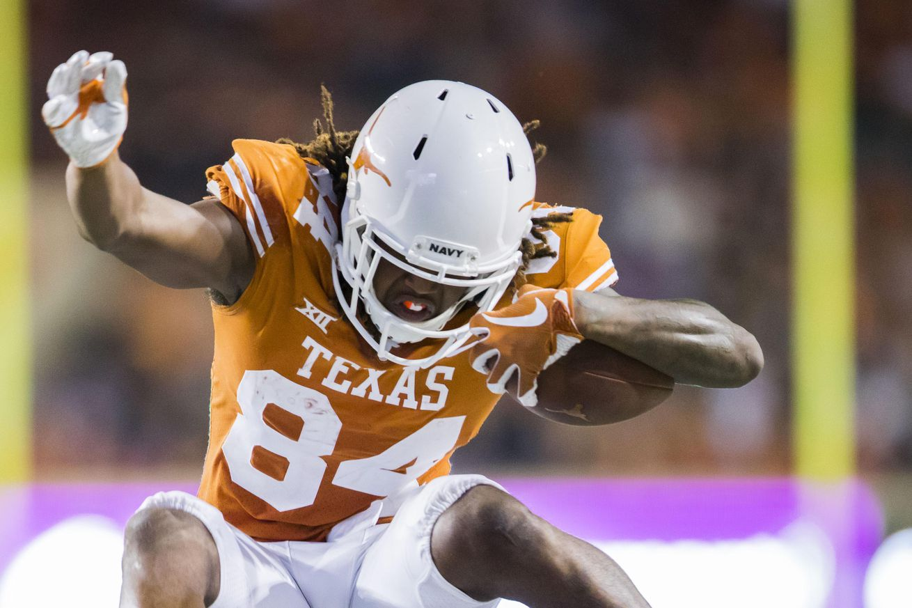 Chris Del Conte, Tom Herman praise and support Texas WR Lil'Jordan Humphrey's letter