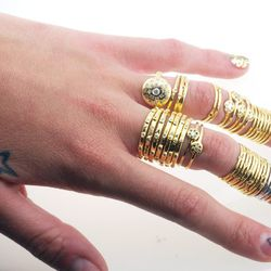 Spend $75 at Scosha in Williamsburg and get a free memory ring.