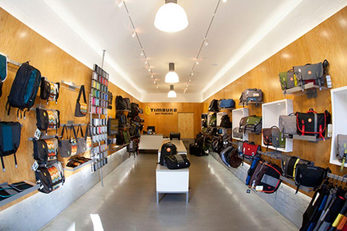 """Image of Timbuk2's San Francisco store <a href=""""http://www.timbuk2.com/stores?storeID=san_francisco"""">via</a><span></span>"""