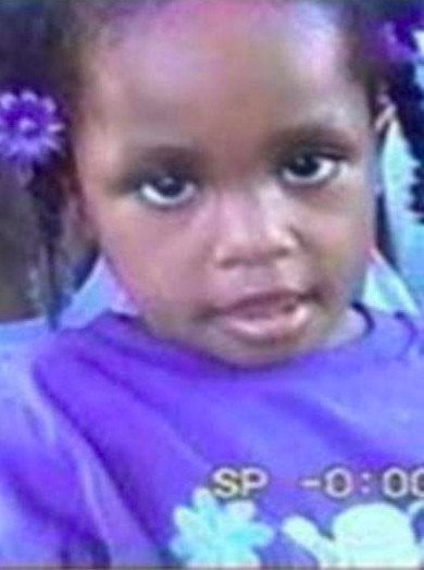Diamond Bradley was 3 years old when she went missing.