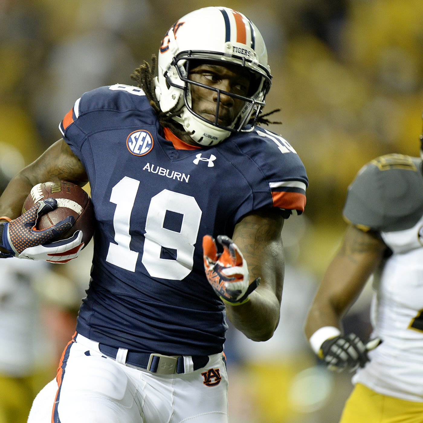 2015 NFL Draft: Steelers to visit with Auburn WR Sammie Coates ...