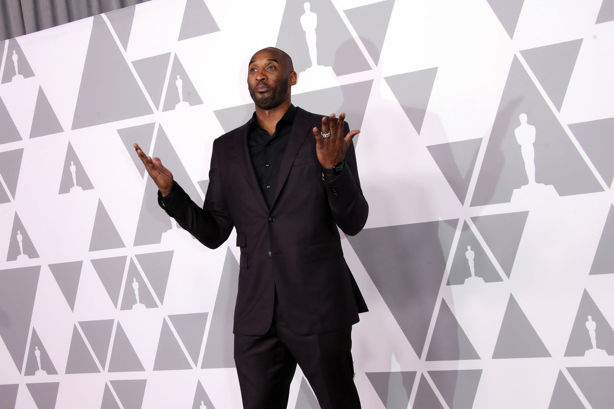 Kobe Bryant wins Oscar for his animated short 'Dear Basketball' class=