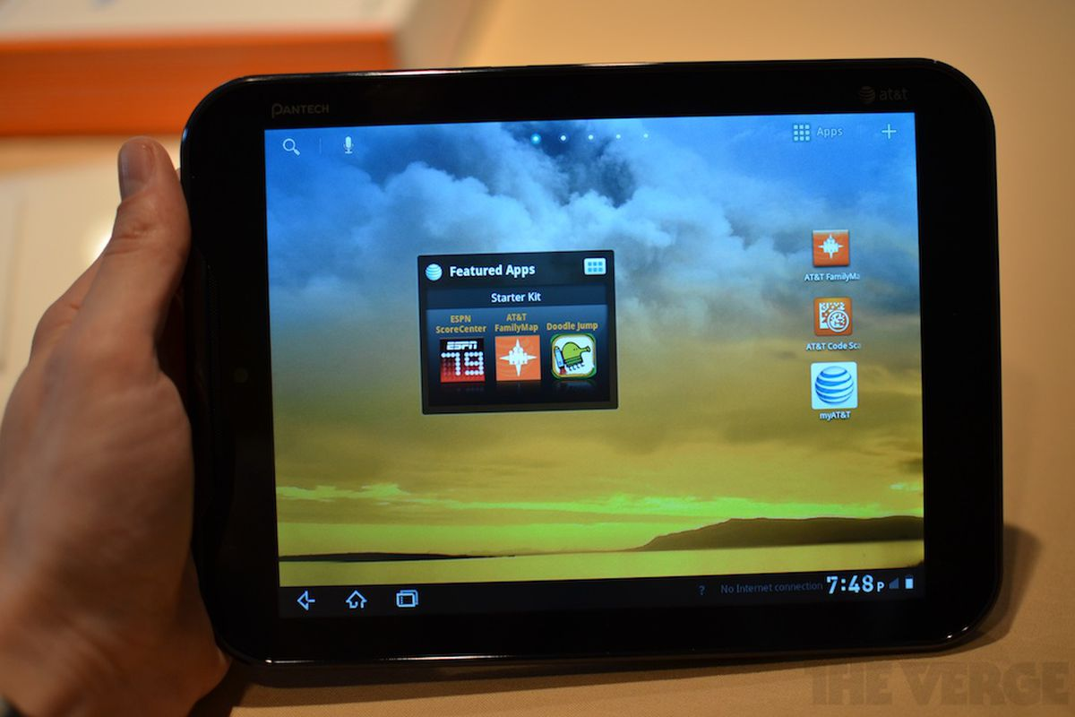 Pantech Element waterproof LTE tablet now available on AT&T