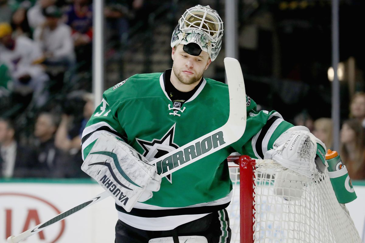 Antti Niemi, the guy we're relying on to stop the Blackhawks or Blues or Predators or some shit from advancing in the Central