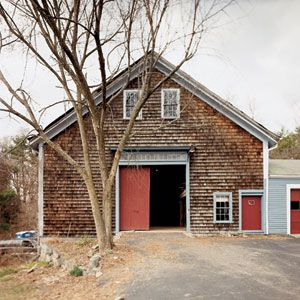<p>This unrenovated barn is part of an 1849 farmstead in Carlisle, Mass., the site of the current TOH TV show project. Here, it's shown before construction to turn it into living space began last April.</p>