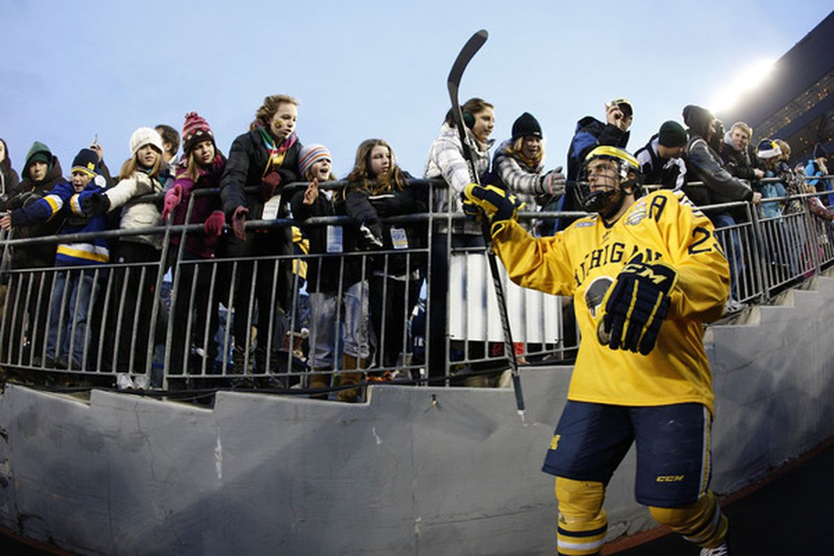 University of Michigan graduate Louie Caporusso will be re-joining the Elmira Jackals for their playoff run