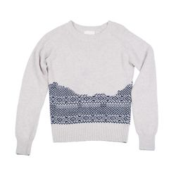 """Band of Outsiders Fair Isle raglan crew, <a href=""""http://www.bandofoutsiders.com/collections/womens-newest/products/broken-fair-isle-raglan-crew?c=Womens"""">$395</a>"""