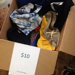 Craft Atlantic's sample bin, $10
