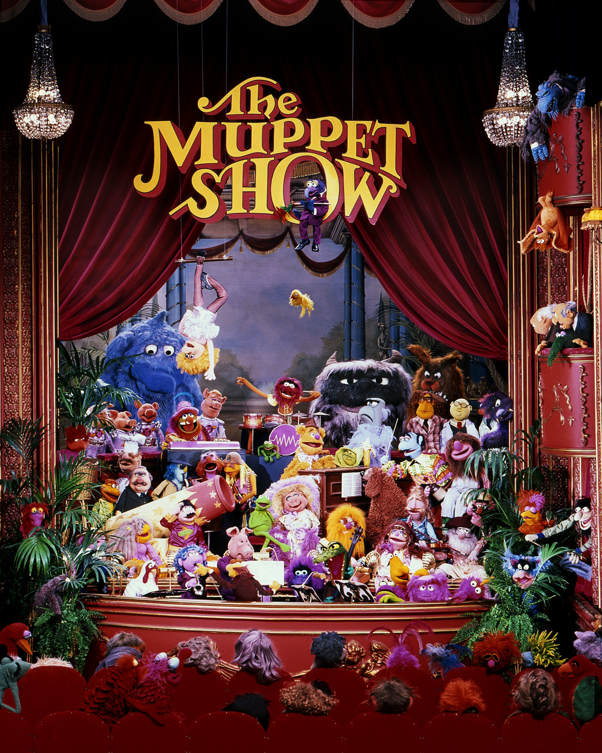 the full cast of the muppet show