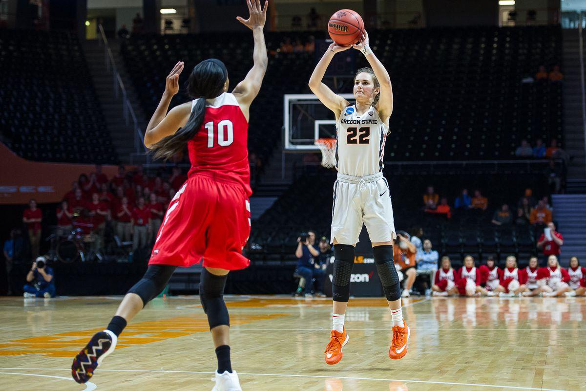 NCAA BASKETBALL: MAR 16 Div I Women's Championship - First Round - Oregon State v Western Kentucky