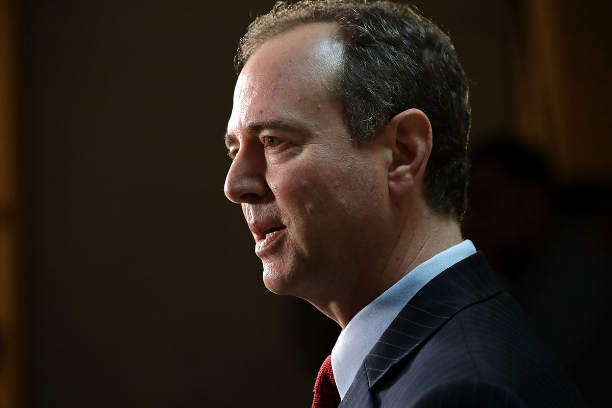 Rep. Adam Schiff Holds News Conference On Russia Investigation