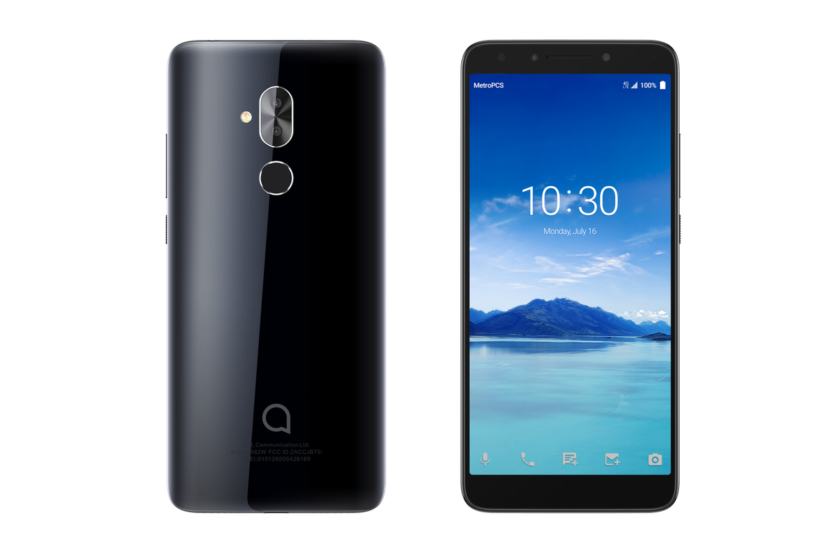 Alcatel Has Made Another Budget Phone With A Tall And Slim 18 9 Display The Verge