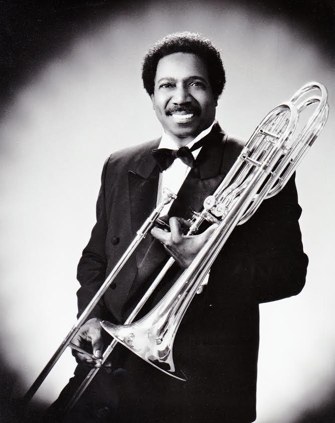 Morris Ellis and trombone.   Provided photo