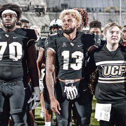 UCF defeats UConn, 56-21