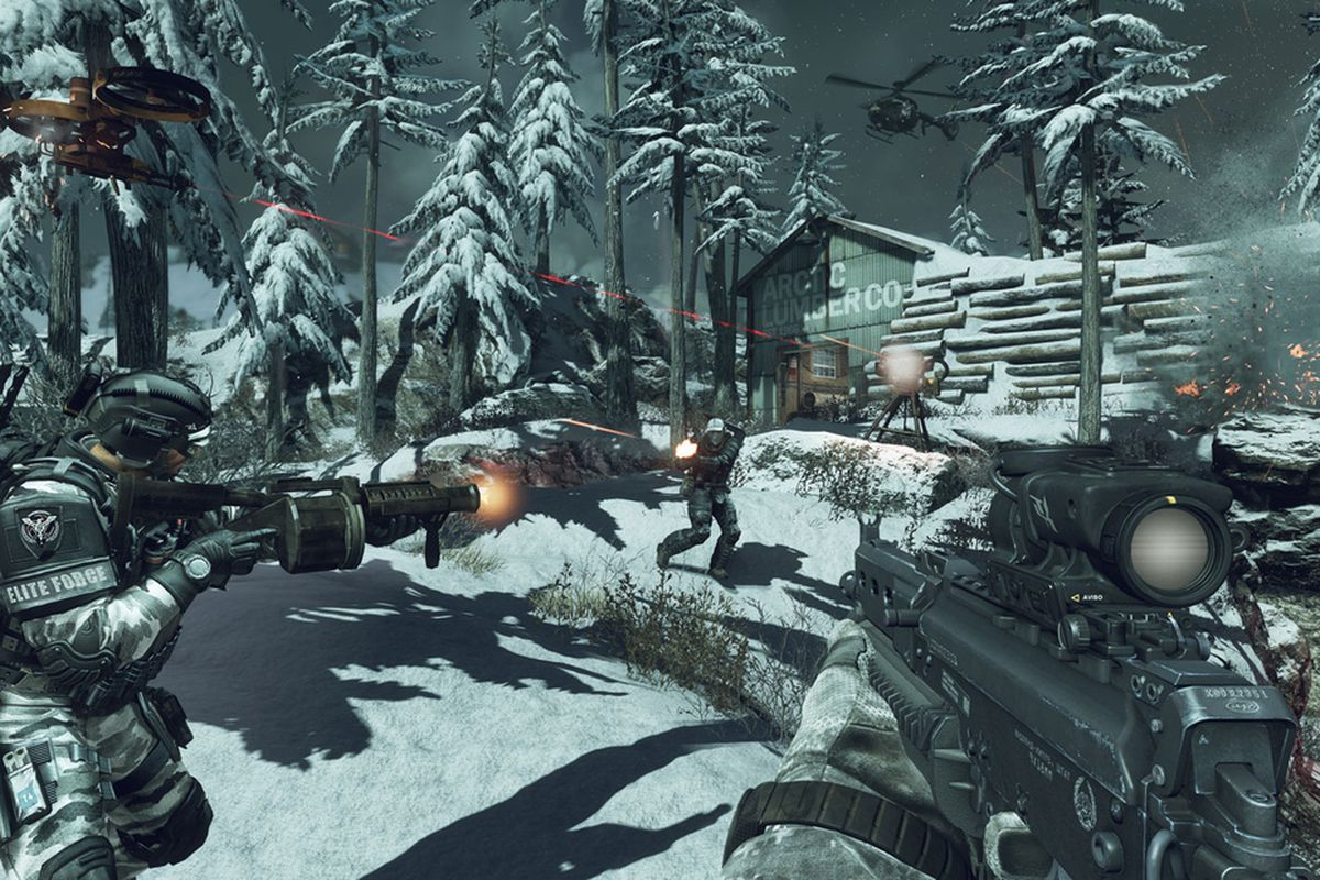 Call Of Duty Ghosts Multiplayer Hands On Familiar But Fun And