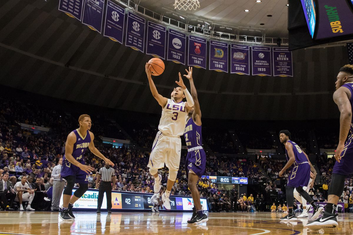 NCAA Basketball: Alcorn State at Louisiana State
