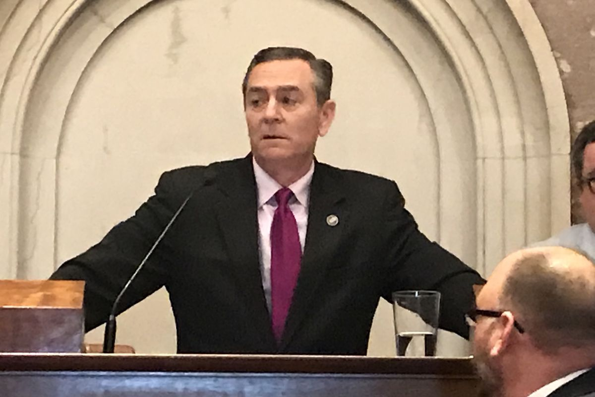 Rep. Glen Casada, a Republican from Franklin, was elected speaker of Tennessee's House of Representatives in January and helped to push through Gov. Bill Lee's controversial education savings account plan. (Photo by Marta W. Aldrich/Chalkbeat)