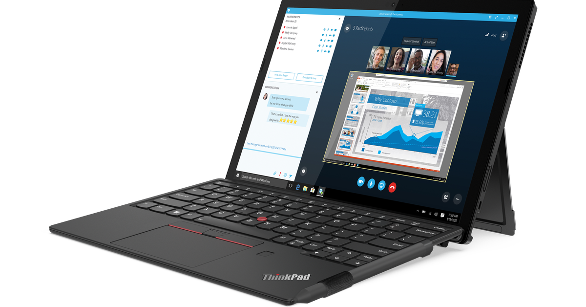 Lenovo's ThinkPad X12 Detachable has a 12-inch screen that's well detachable – The Verge
