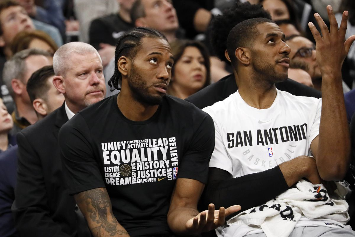 Kawhi could return to the Spurs next week vs. Pelicans