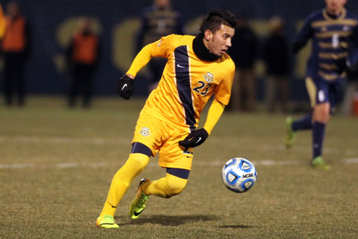 Six Golden Eagles have scored in Marquette's last five matches, including Coco Navarro's heroics last week against Akron.