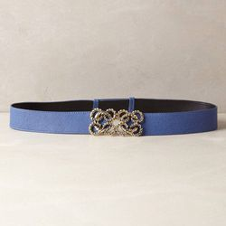 """There's more to nautical dressing than stripes and anchors. You could also cinch your look with this nautical knots belt, $99.95 at <a href=""""http://www.anthropologie.com/anthro/pdp/detail.jsp?&pageName=Nautical+Knots+Belt&catId=SHOPSALE-JEWELRYACCESSORIES"""