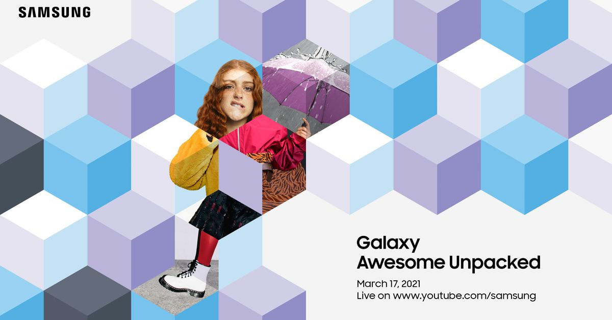 Watch Samsung Galaxy Awesome Unpacked on March 17th – The Verge