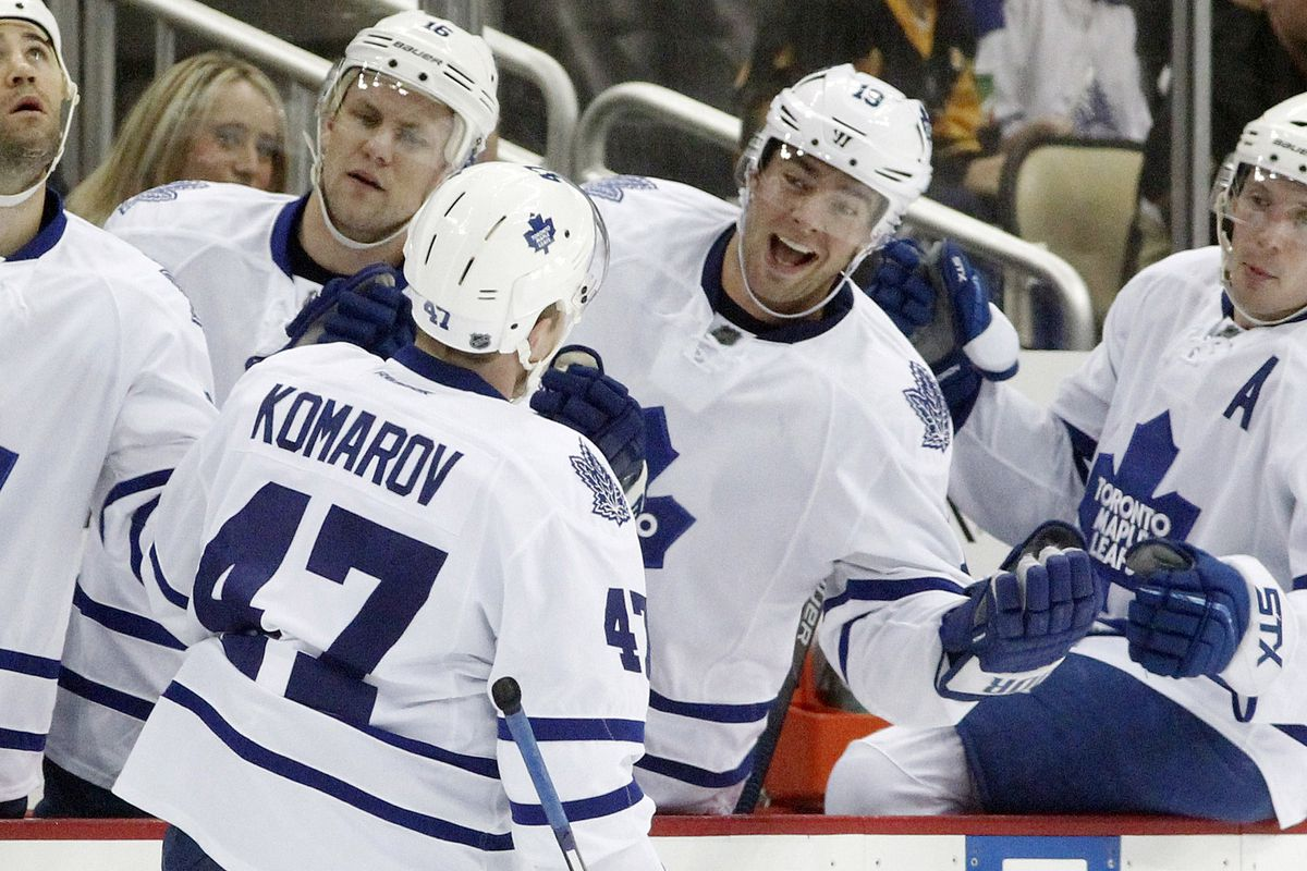 NHL: Toronto Maple Leafs at Pittsburgh Penguins