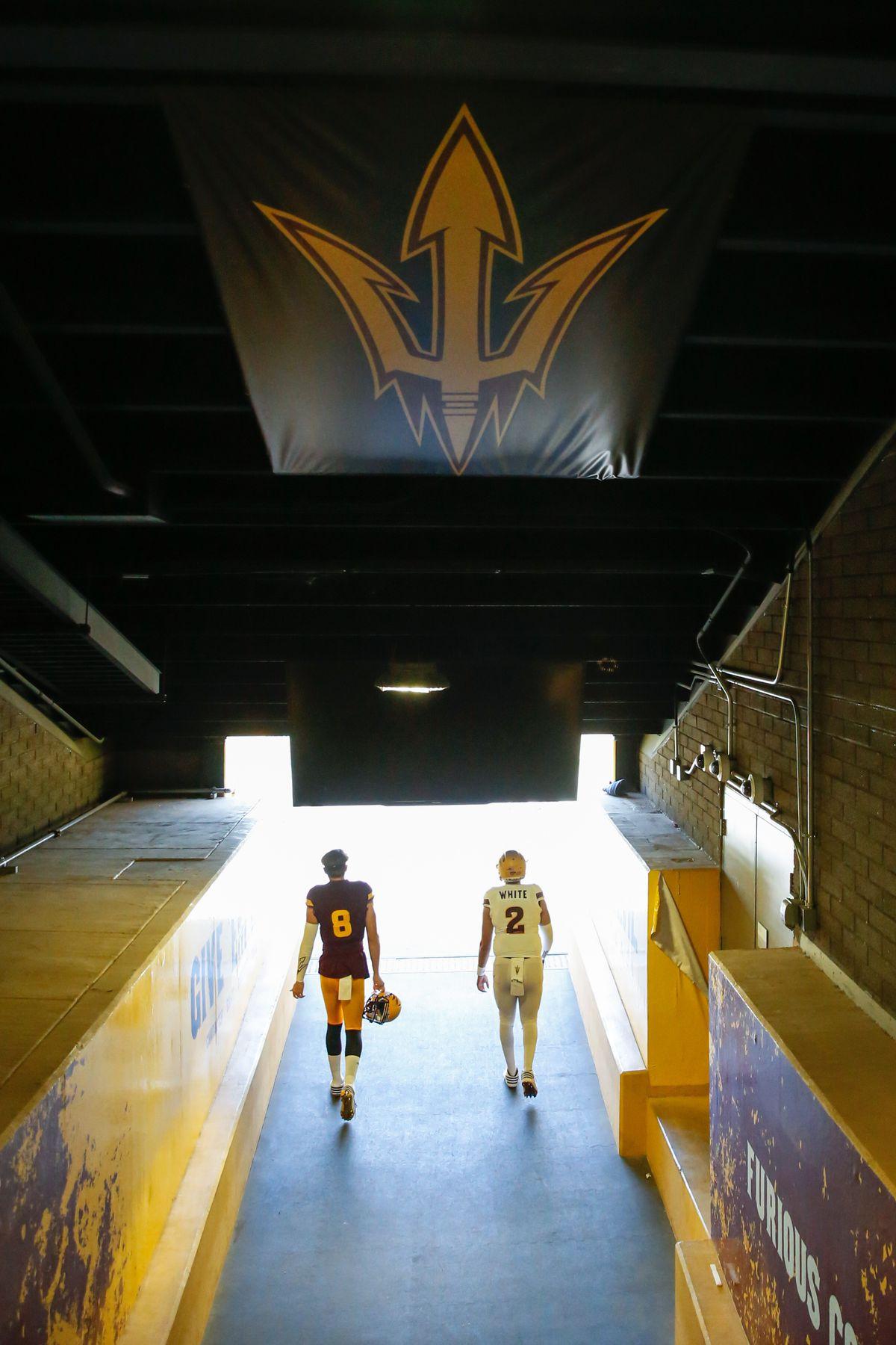 COLLEGE FOOTBALL: APR 15 Arizona State Spring Game