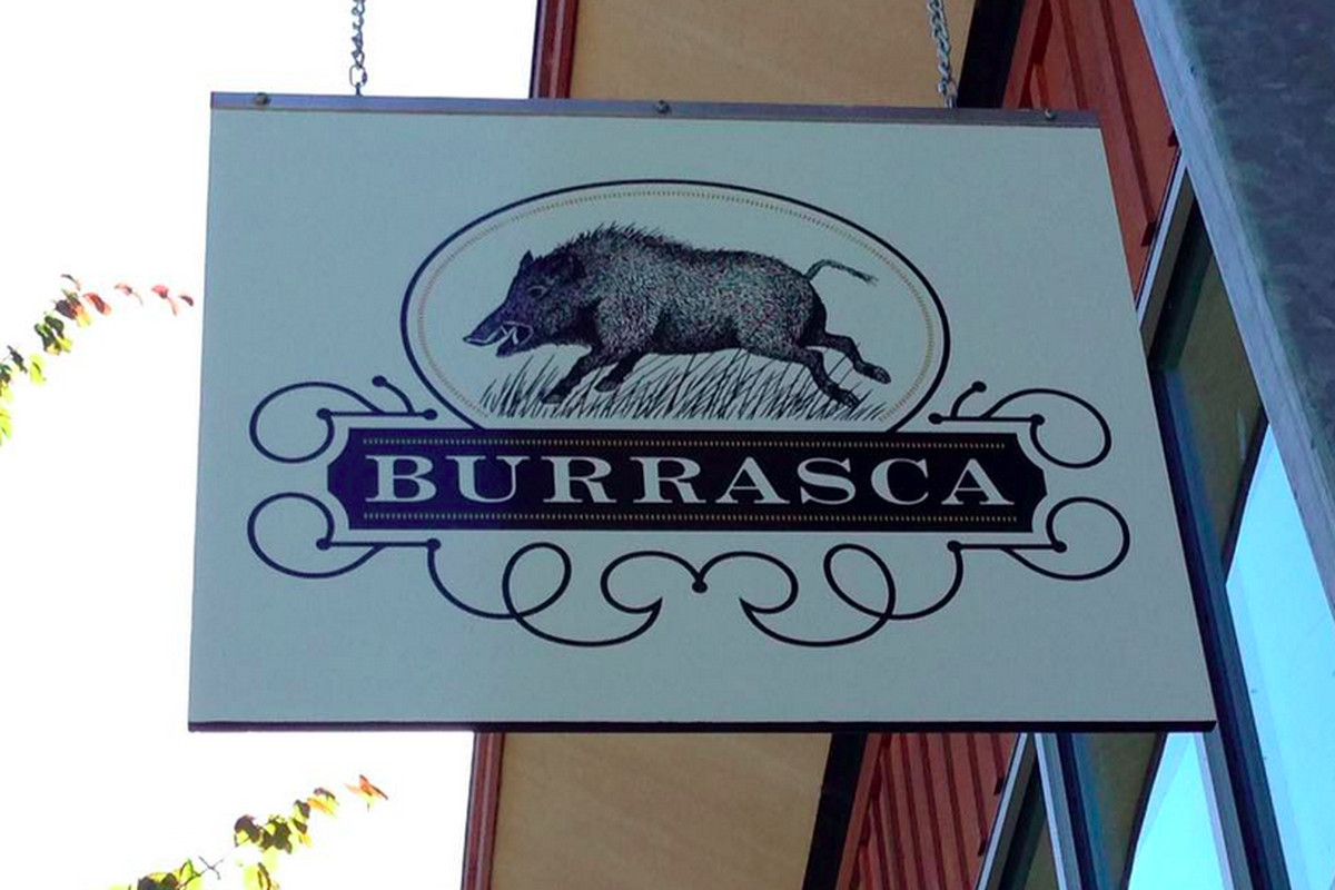 """""""La Burrasca"""" means storm or squall in Italian."""