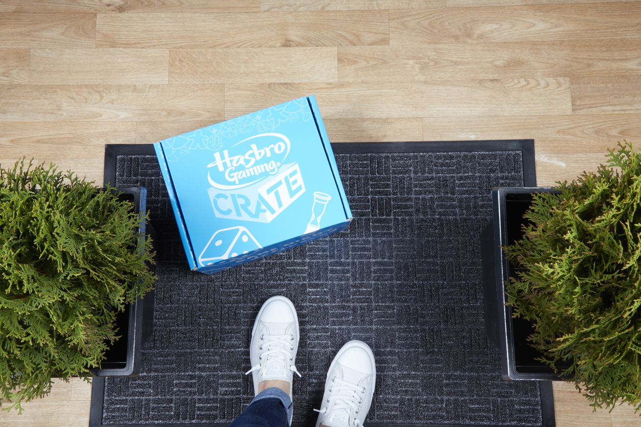 Hasbro's new Gaming Crate subscription service is for board game fanatics