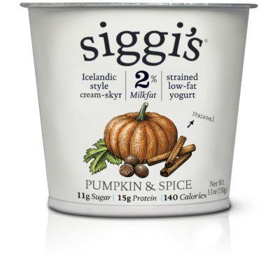 Siggi's Pumpkin & Spice skyr