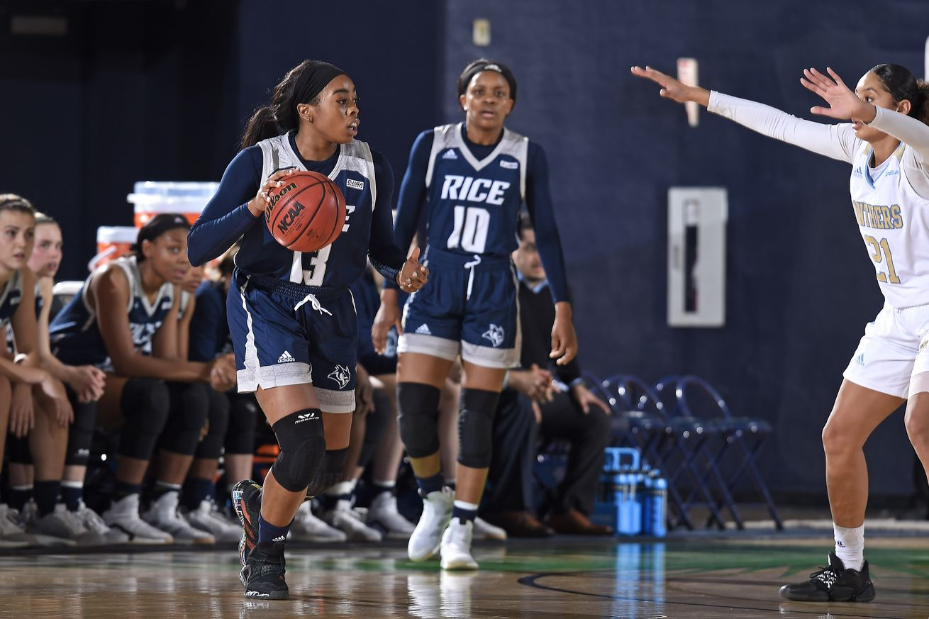 COLLEGE BASKETBALL: JAN 11 Women's Rice at FIU