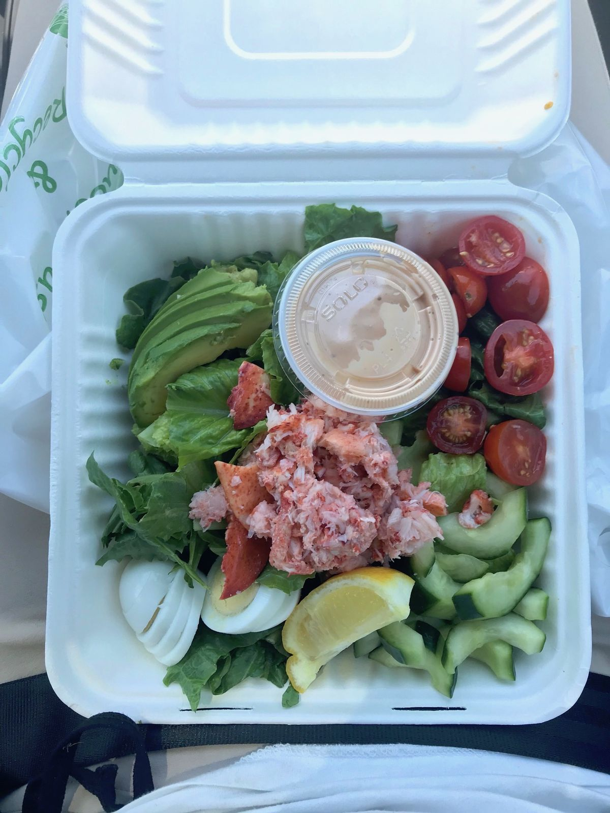 Lobster Louie from Old Port Lobster Shack