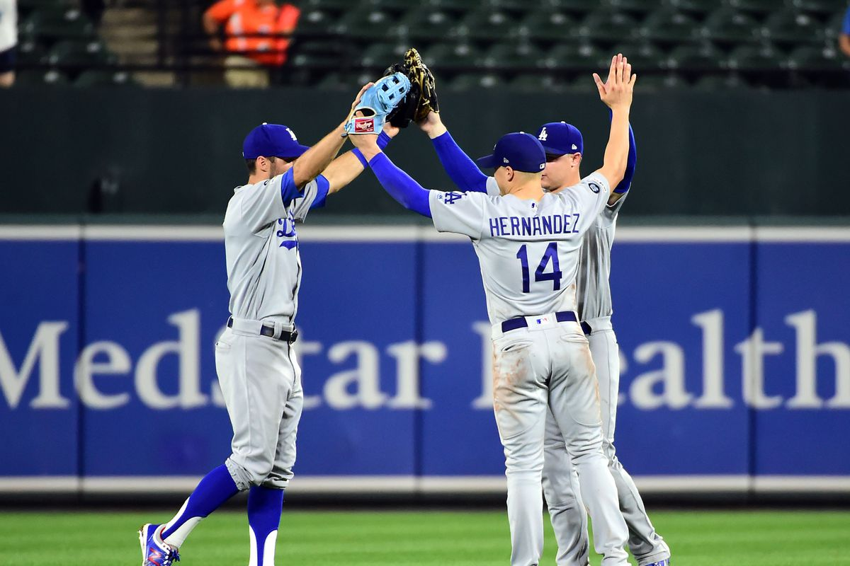 MLB: Los Angeles Dodgers at Baltimore Orioles