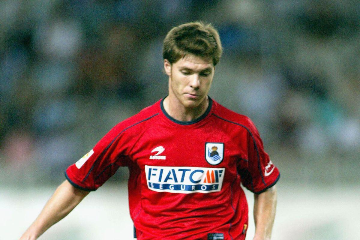 Xabier Alonso of Real Sociedad