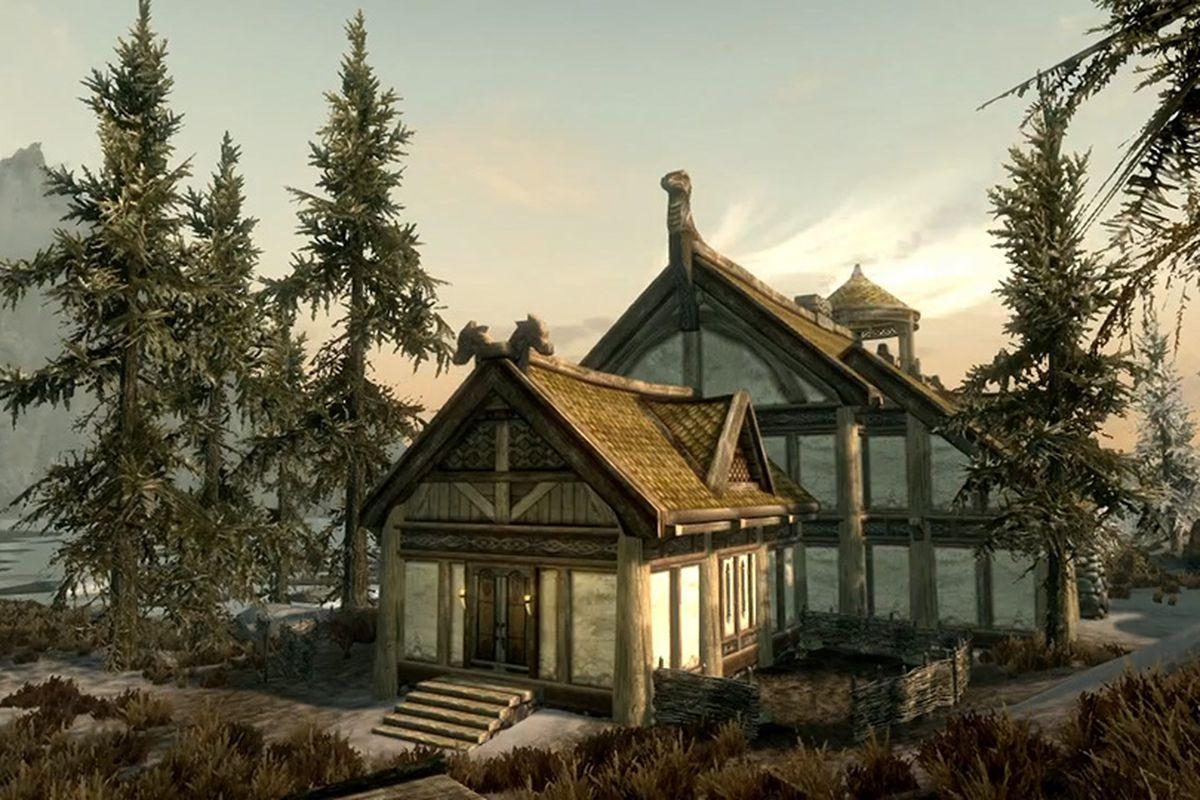 Skyrim Hearthfire expansion