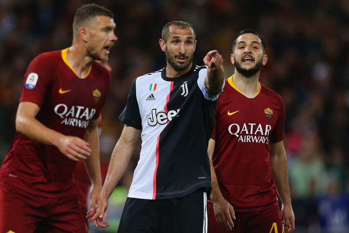 newest daf48 72b6c Juventus 0 - Roma 2: Initial reaction and random ...