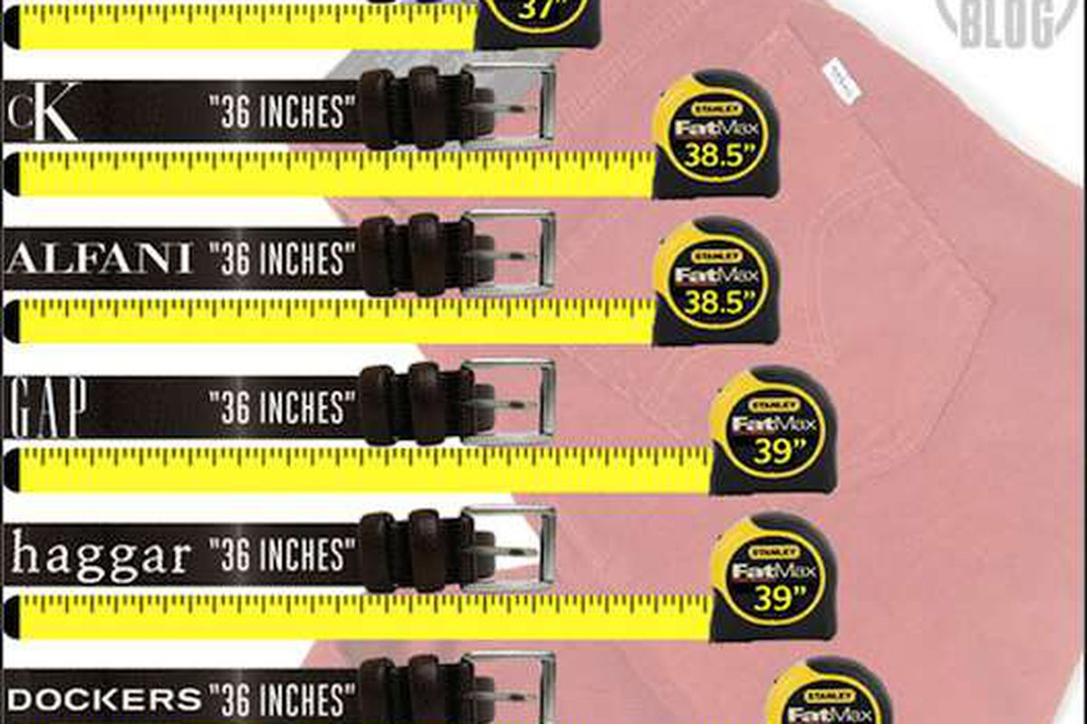 vanity sizing men s 36 pants at old navy actually have a 41 waist