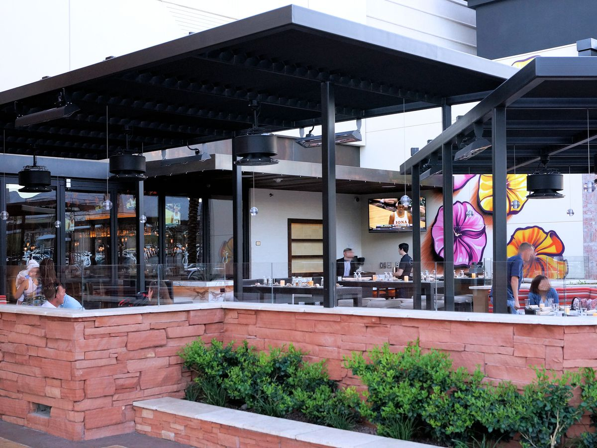 The Hottest New Outdoor Dining Spots in Las Vegas - Eater ...