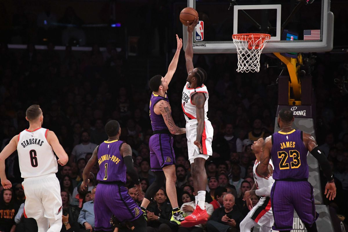 951d290d3d0 Portland Trail Blazers at Los Angeles Lakers Preview - Blazer s Edge