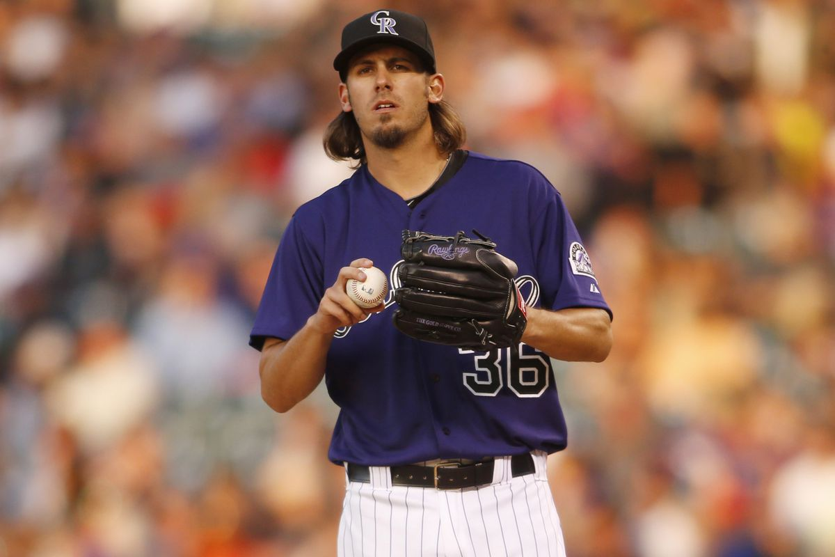 This man will be key tonight, for sure, but it's the Rockies offense that really needs to step up.
