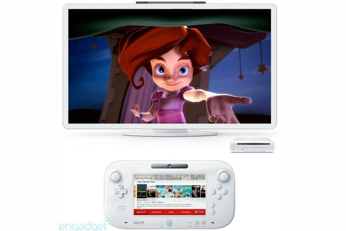 Wii U Netflix ENGADGET