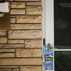 """A full mailbox and a notice of disconnected water service due to nonpayment are seen at Salt Lake City Recorder Gary Ott's home in Salt Lake City on Wednesday, June 14, 2017. Ott hasn't been paying his home equity loan for almost a year, and his property could be sold by the bank in three months, according to a """"notice of default"""" obtained from the Salt Lake County Recorder's office on Wednesday."""
