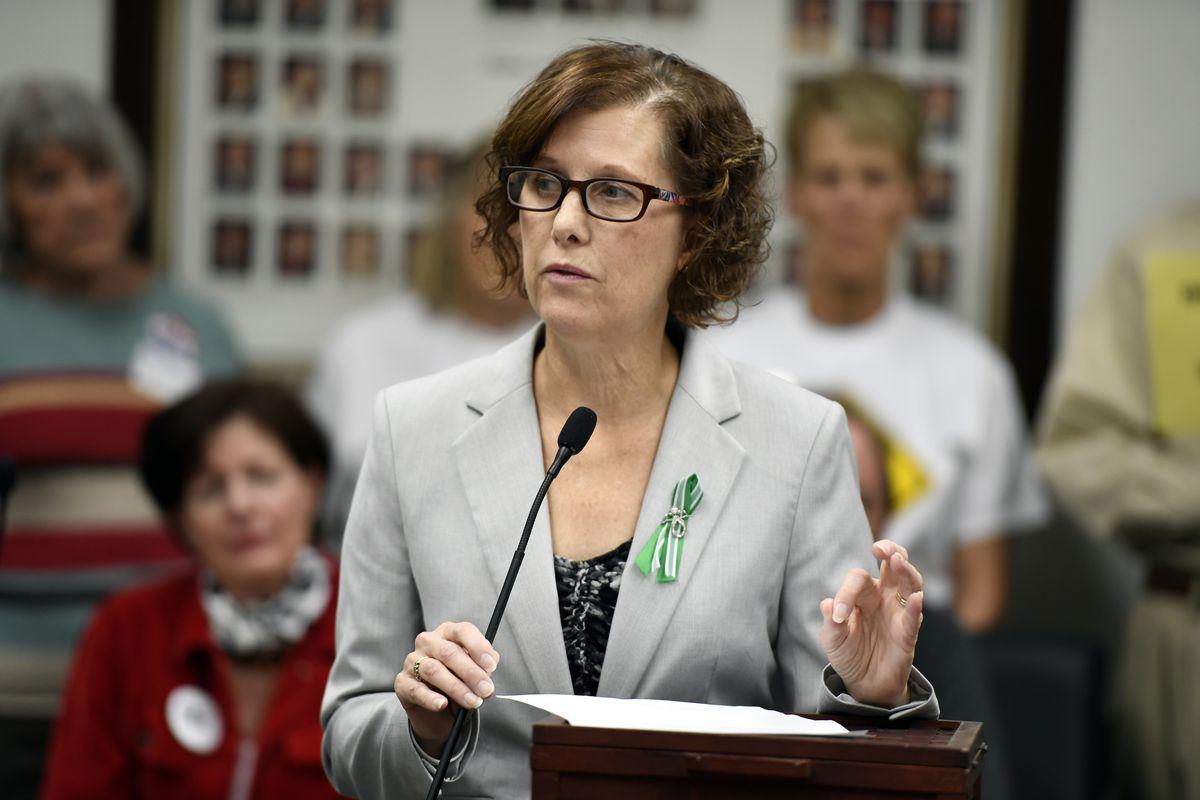 Jane Dougherty is a dressmaker and gun control advocate.