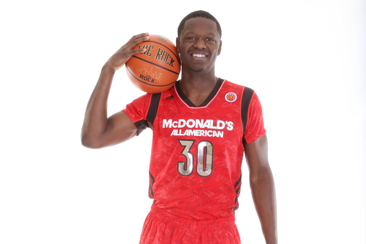 Julius Randle is the best player in the 2014 draft class whose name isn't Andrew Wiggins.