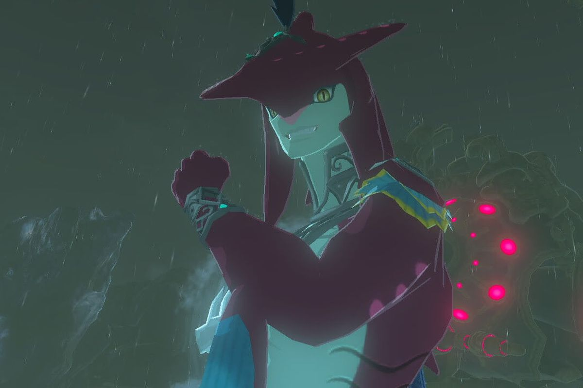 in breath of the wild, everyone just wants to kiss a zora - polygon