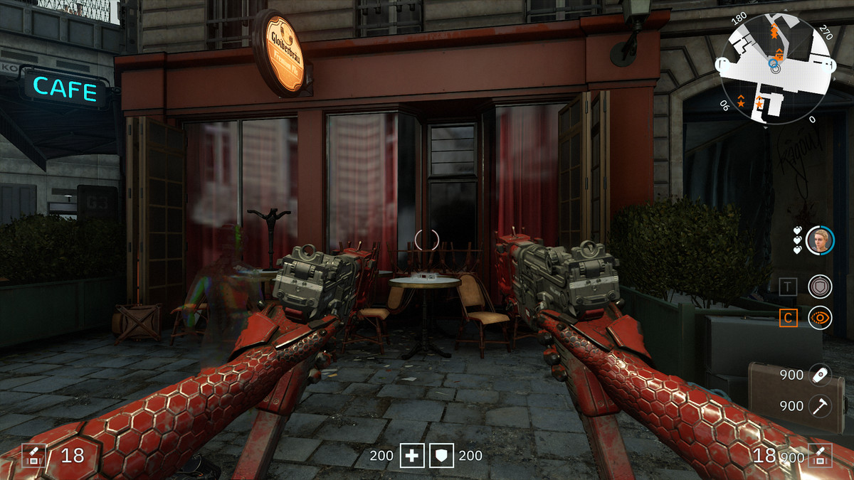 Wolfenstein: Youngblood 3D Glasses 37 Flatbed collectibles